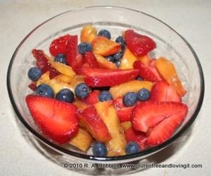 A Simple Fruit Salad