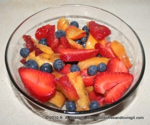 A Simple Fruit Salad