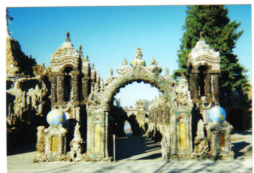 Entrance to Grotto of the Redemption in Iowa Photo taken by R.O. Robbins 2005