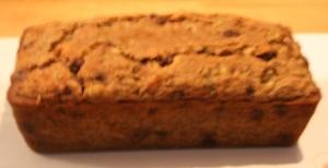 Zucchini Bread Photo copyright 2013 by R.A. Robbins