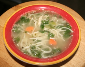 Turkey Noodle Soup Copyright 2014 by R.A. Robbins