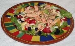 Salmon Salad Copyright 2014 by R.A. Robbins