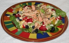 Salmon Salad Copyright 2014 by R.A. Robbins