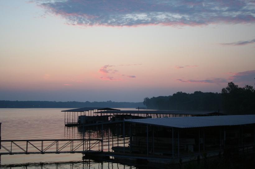 Cloudy Sunrise #4 Copyright 2016 by R.A. Robbins